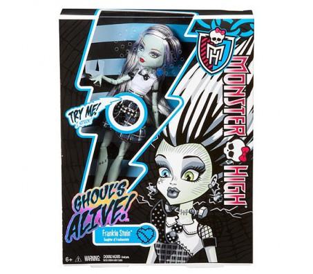 Кукла Frankie Stein Ghoul s Alive!Куклы Школа монстров (Monster high)