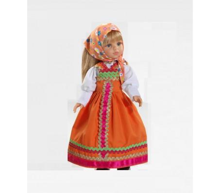 Кукла Катя в оранжевом сарафане 32 смКуклы взрослые