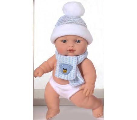 Кукла Кики голубой шарфикКуклы пупсы