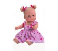 Кукла Лиза с бантиками 34 см