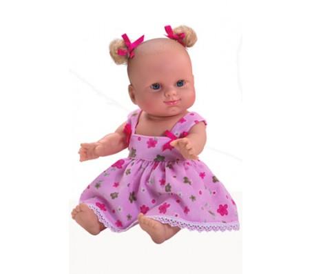Кукла Лиза с бантиками 34 смКуклы мягконабивные
