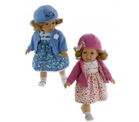 Кукла Лула блондинка в голубом, говорящаяГоворящие куклы