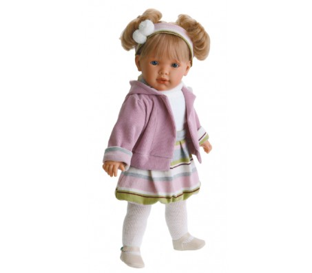 Кукла Лула в сиреневом, озвуч.Говорящие куклы