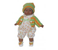 Кукла Маня мулат, 39 см