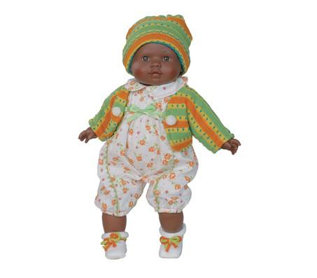 Кукла Маня мулат, 39 смКуклы мягконабивные