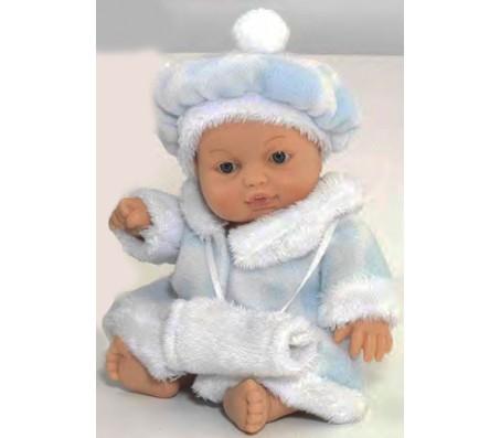 Кукла Мими в голубом ПальтоКуклы пупсы