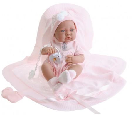 Кукла-младенец Тони (девочка) в розовомКуклы пупсы