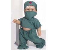 Кукла Пауль врач