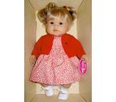 Кукла Тереза блонд. в красном, говорящая