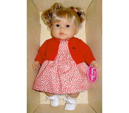 Кукла Тереза блонд. в красном, говорящаяГоворящие куклы