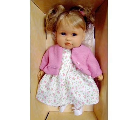 Кукла Тереза блонд. в малиновом говорящаяГоворящие куклы