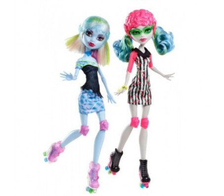 Куклы Школа Монстров Роллеры Гуоллия и АббиКуклы Школа монстров (Monster high)