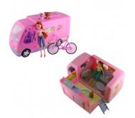 Куклы Winx Club Автобус розовый