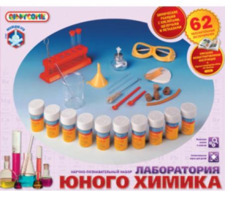 Лаборатория юного химикаДетские опыты эксперименты