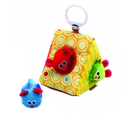 LAMAZE Развивающая игрушка Сыр-сортерКубики для малышей