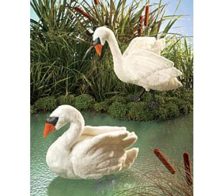 Лебедь, 38 смМарионетки (перчаточные куклы)
