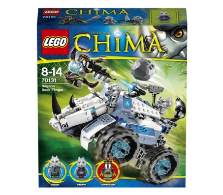 Лего Камнемёт РогонаЛего Легенды Чимы (Lego Legends of Chima)
