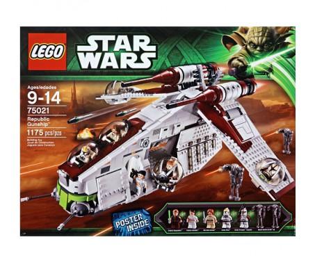Лего Republic GunshipЛего Звездные войны (Lego Star wars)