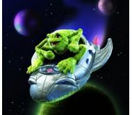 Лягушка на космическом корабле, 33 см