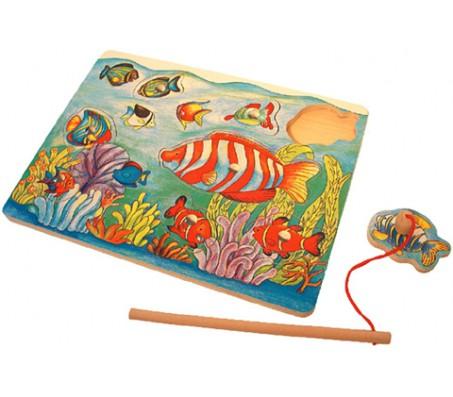 Магнитная рыбалка   АквариумПазлы и вкладыши