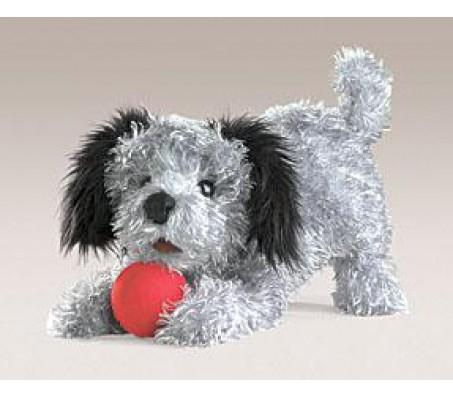 Маленькая мягкая собачка, 33 смМарионетки (перчаточные куклы)