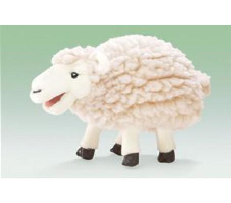 Маленькая мягкая овечкаМарионетки (перчаточные куклы)