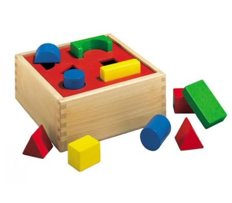 Маленький сортировочный ящик HerosКубики для малышей