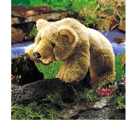 Медведь гризли, 43 смМарионетки (перчаточные куклы)