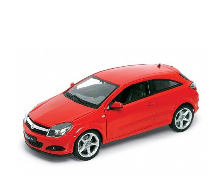 Моделька OPEL ASTRA 2005 красного цвета 1:18Модели машин