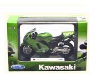 Модель мотоцикла Кавасаки нинзя 1:18