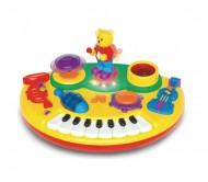 Музыкальная игрушка пианино мишка