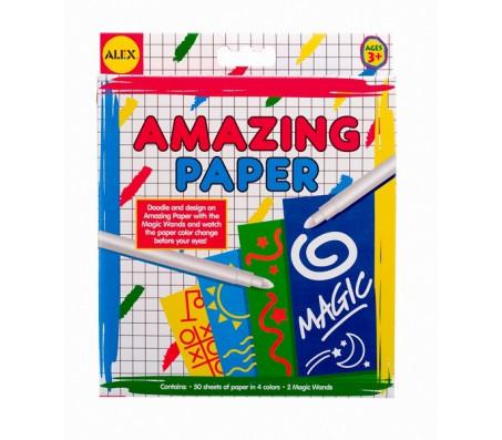 Набор бумаги меняющей цвет и 2 волшебные палочкиНаборы для рисования