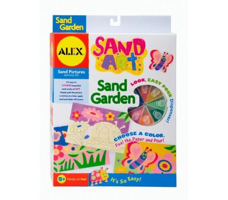 Набор для картин из цветного песка СадНаборы для рисования