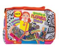 Набор для раскрашивания сумочки с цветами