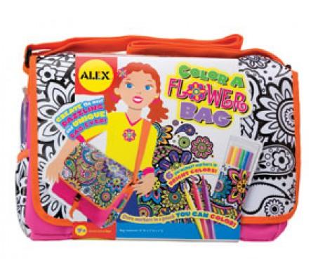 Набор для раскрашивания сумочки с цветамиНаборы для рисования