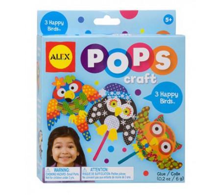 Набор для творчества POPS CRAFT  3 веселые птичкиНаборы для творчества