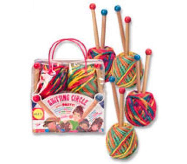 Наборы для детей вязание без спиц