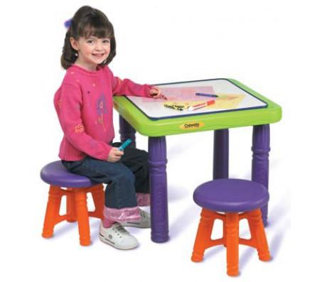 Набор игровой мебели столик и 2 стульчикаСтолы, парты и стулья