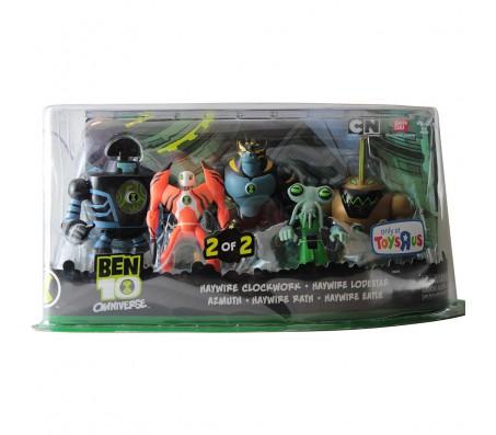 Набор из 5 фигурок Ben 10Игрушки Бен 10 (Ben 10)