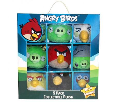 Набор из 9 штук Angry BirdsИгрушки Энгри Бердз (Angry Birds)