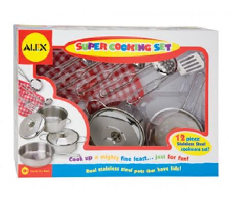 Набор посуды из нержавеющей сталиРазные игровые наборы