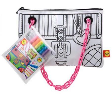 Набор раскрась кошелек ШикНаборы для рисования