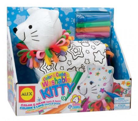 Набор Раскрась котенкаНаборы для рисования