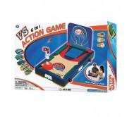 Игра настольная 6 в 1(Toys&Ctames)