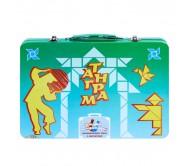 Умный чемоданчик с магнитами Танграм
