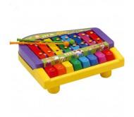 Натура Ксилофон с клавишами 25x21x9 см