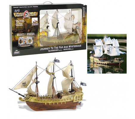 Пиратский парусник Pirate Ship от SilverlitКатера и лодки на радиоуправлении