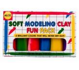 Пластилин Мини 6цветов, не сохнет