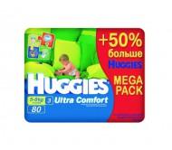 Подгузники Huggies ultra comfort 5-9 кг 80 штук