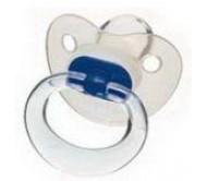 Пустышка успокаивающая NUK клиар силикон размер 1